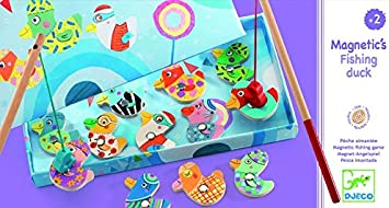 DJECO- Juegos de acción y reflejosJuegos de habilidadDJECOPesca Patos, Multicolor (1): Amazon.es: Juguetes y juegos