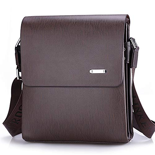 Men's Bag Cuero Messenger Business Bag Backpack Men Shoulder Bag Bag de Men's Casual Bag Oficial Leather ZQ qaPEXE