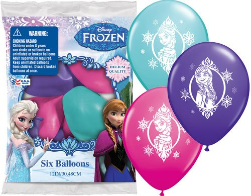 Frozen Latex Balloon Set
