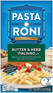 Pasta Roni Herb and Butter Rigatoni Mix, 5.5 Ounce