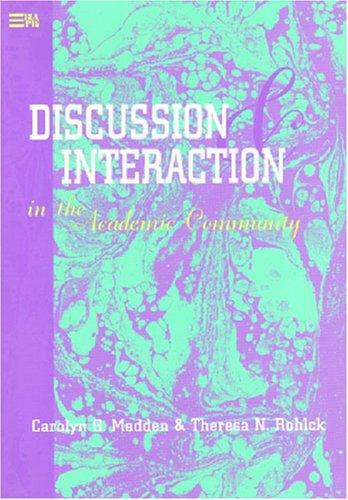 Discussion and Interaction in the Academic Community...