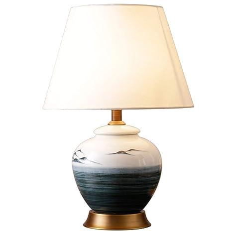 De Lampe Table Simple En Tout Paysage Américain Peinture LR4A5j