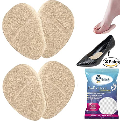 Metatarsal Pads | Metatarsal Pads for Women | Ball of Foot Cushions Forefoot Shoe Inserts Shoe Insole High Heels to Pain Relief, 2 Pairs
