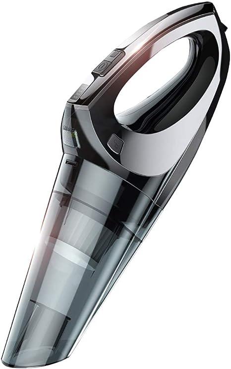 ANFAY Aspirador de Mano portátil inalámbrico, 4Kpa de Gran Potencia con succión de Mano con Luces LED, se Puede Utilizar para el Carro de escaleras para Mascotas: Amazon.es: Hogar