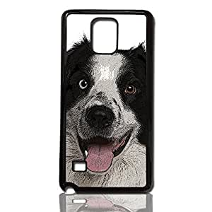 carcasa para movil compatible con samsung galaxy note 3 perro border collie