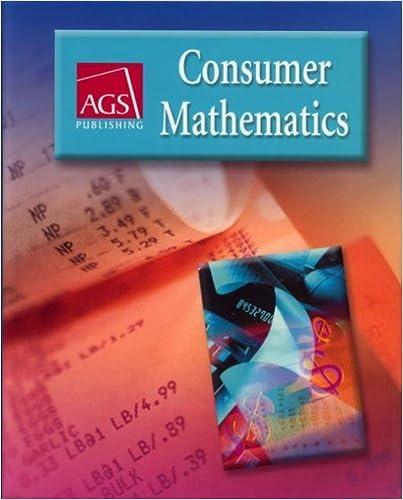 Consumer mathematics workbook answer key ags publishing ags consumer mathematics workbook answer key ags publishing 0th edition fandeluxe Images