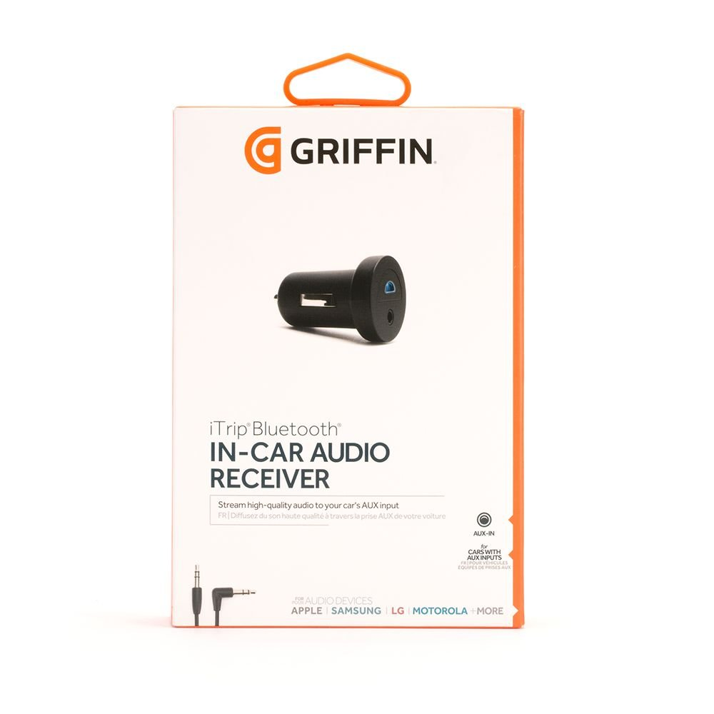 Griffin Itrip Bluetooth Aux Hands Free Car 2008 G35x Audio Wiring Kit For Cars With 35 Mm Input Stream From Your Phone To Via