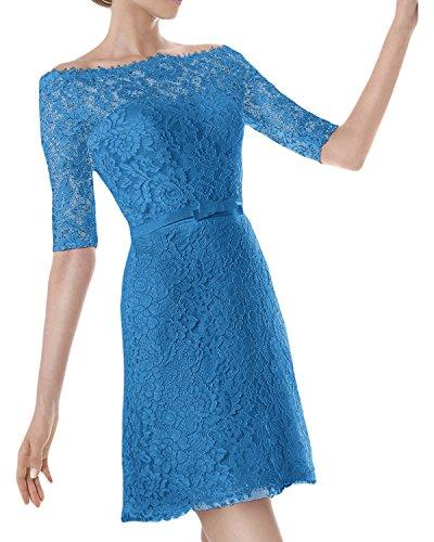 trapecio azul Topkleider oscuro para Vestido mujer 5nnF7