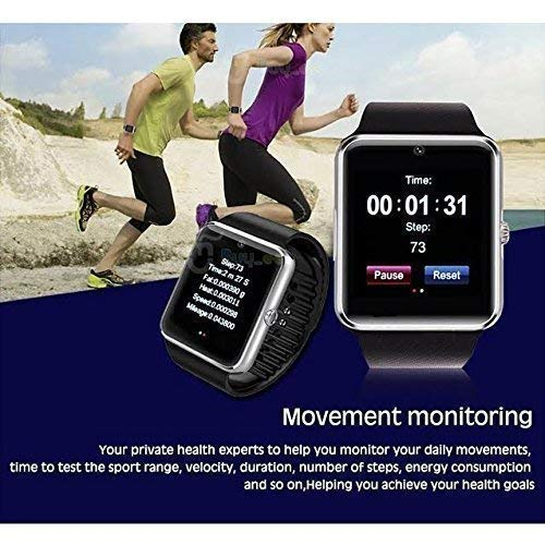 51zeWFppFSL MKYCNC Smart Watch A1 Bluetooth Smartwatch Compatible with All Mobile Phones for Boys and Girls