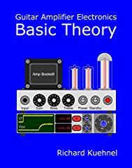 Richard Kuehnel's new book explains the design of guitar amplifier preamps, power amps, and power supplies using 2019 technology. Computer-based visualization replaces the traditional litany of mathematical formulas. The book's graphing calcu...