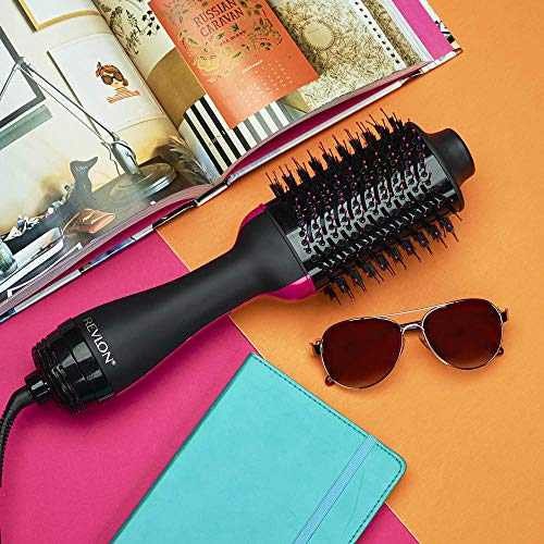 51zeWzurqUL - Revlon One-Step Hair Dryer & Volumizer Hot Air Brush, Black