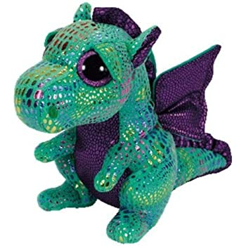 1c530ee149c New Original TY Beanie Boos Cinder Green Dragon Big Eye Plush Toys 15CM  Kids Stuffed Animals Toys For Children Gifts