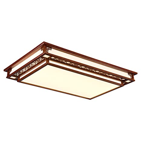 Nueva lámpara de techo de sala de estar rectangular de ...