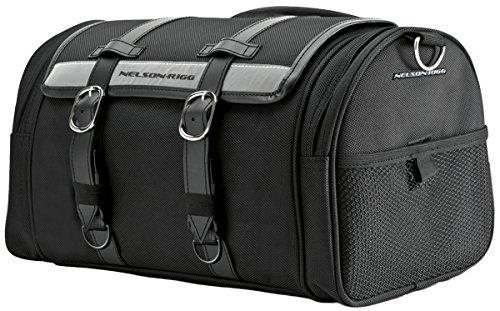 - Nelson-Rigg CTB-1020 Black Deluxe Barrel Bag