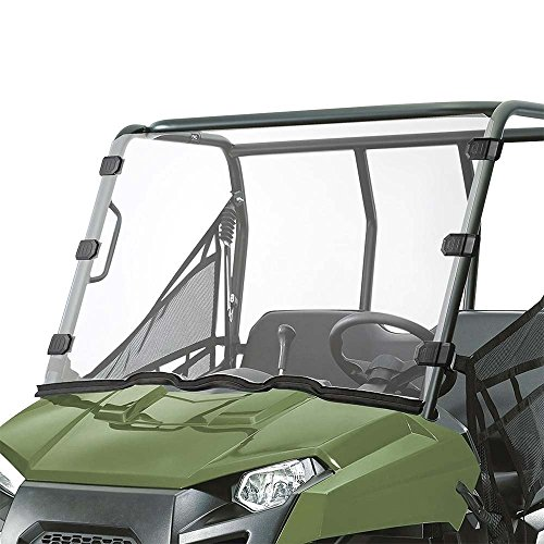 (Slendor Polaris Ranger Midsize Scratch Resistant Full Windshield)