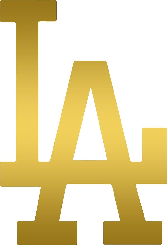 Amazon.com: ANGDEST MLB Los Angeles Dodgers (METALLIC GOLD ...