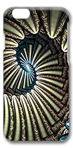 iPhone 6 Plus Case, Ultra Slim Pattern Bumper for iPhone 6 Plus Cover (5.5) Endless Spiral Fun 3D iPhone 6 Plus cases for Girls iphone 6 Plus case hard PC Skin