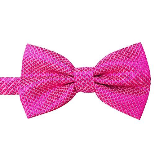 Hermes Designer Ties Silk Necktie - Bow Ties for Men, BXzhiri Men's Pre Tied Bow Ties for Wedding Party Fancy Plain Adjustable Bowties Necktie Fine Bow Tie