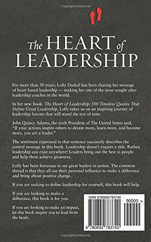Great Leadership Quotes Extraordinary The Heart Of Leadership 48 Timeless Quotes That Define Great