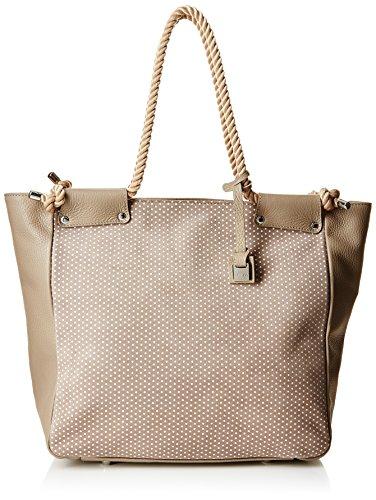 Arcadia 7768, borse da spiaggia Donna, Beige, 41 cm