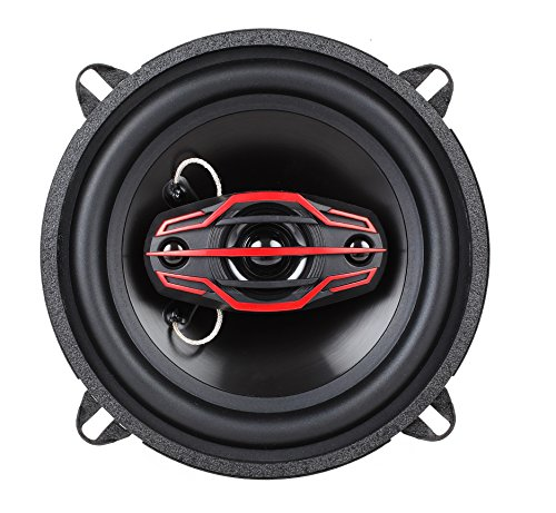 Dual Electronics DLS524 4-Way 5 ¼ inch Car Speakers with 120 Watt Power & 30mm Mylar Balanced Dome Midrange by Dual Electronics (Image #2)