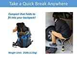 Trekology Portable Folding Camping Stools, Ultralight...