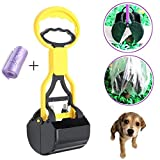 Corner Biz Pet - Pet Dog Cat Waste Pooper Scooper Excavator Poo Grabber Pick Dung Garden Waste Cleanup
