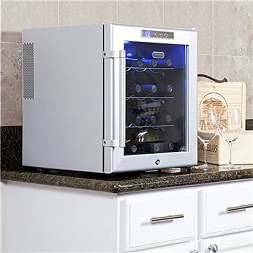 Whynter WC-16S SNO 16 Bottle Wine Cooler, Platinum with Lock by Whynter (Image #8)