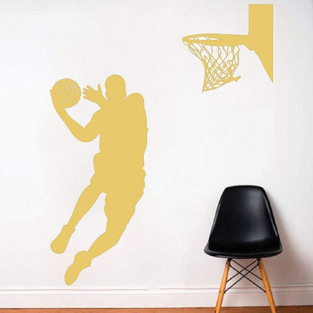 wukongsun Baloncesto Apliques para Hombres Vinilo decoración de la ...