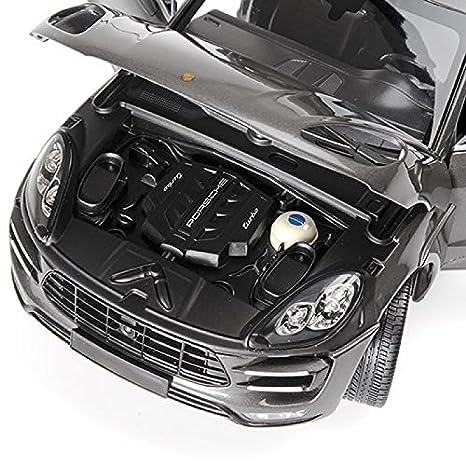 Minichamps 110062504 1:18 Scale 2013 Porsche Mecan Turbo Silver Replica Model Toy