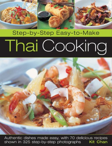 Step-by-Step Easy-to-Make Thai Cooking