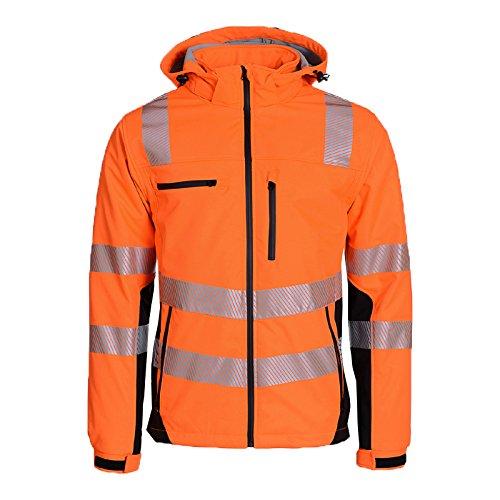 Orange//noir Asatex PTW-SP XL 68 Prevent Trendline Veste softshell haute visibilit/é Taille XL