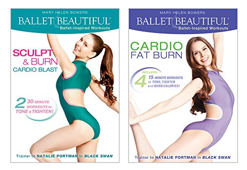 Ballet Beautiful -Cardio Burn DVD Workout Bundle