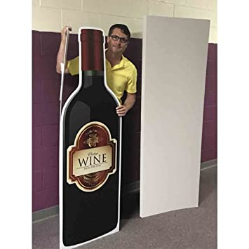 Amazon 58 wine card wenvelope birthday giant greeting 58quot wine card wenvelope birthday giant greeting card m4hsunfo