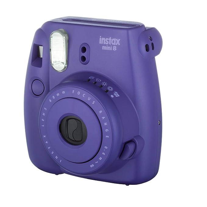 Fujifilm Instax Mini 8 Instant Film Camera  Grape  Instant Cameras