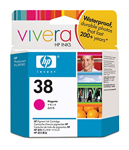 Hp Vivera Pigment Ink (HP 38 Magenta Pigment Original Ink Cartridge (C9416A) DISCONTINUED BY)