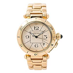 Cartier Pasha automatic-self-wind mens Watch W3014356 (Certified Pre-owned)