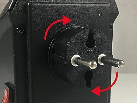 BEPER RI.201 - Calentador Portátil Pocket Heather con 2 Velocidades, 350W: Amazon.es: Hogar