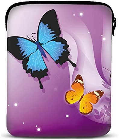 MySleeveDesign Custodia in Neoprene per Tablet e iPad 7-7,9 Pollici // 10-10,1 Pollici 7 Diverse Fantasie Cool Monkey