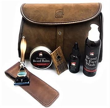 0cd894d121a9 Amazon.com: GBS Dopp Travel Bag - Horn Fusion Razor (with protective ...
