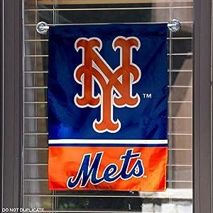 New York Mets Double Sided Garden Flag