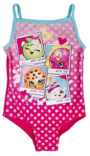 fa177e6eef Lora Dora Girls Character Swimming Costume Shopkins 4-5. by Paw Patrol  Shokins and My Little Pony