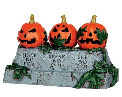 Lemax Spooky Town Evil Pumpkins #