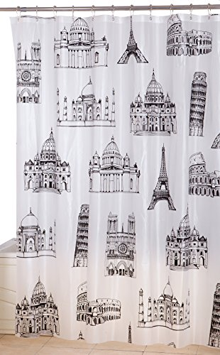 Printed Shower Curtain (72 by 72 inches) - Mi...