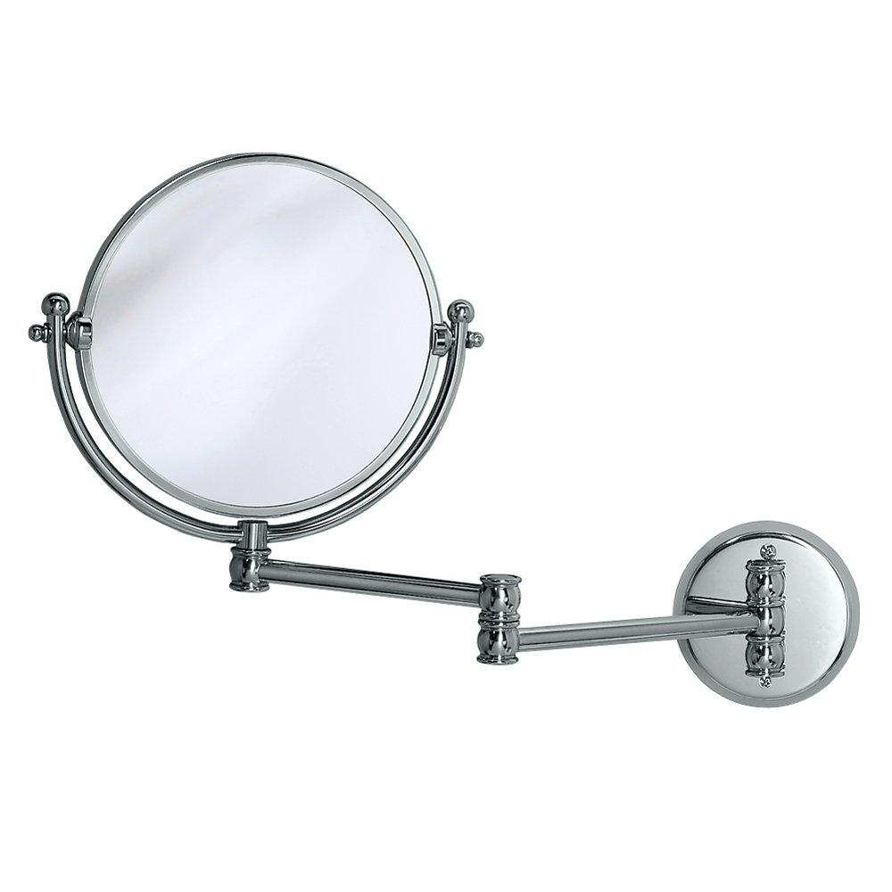 Amazon.com: Gatco 1410 Wall Mount Mirror with 14-Inch Swing Arm ...
