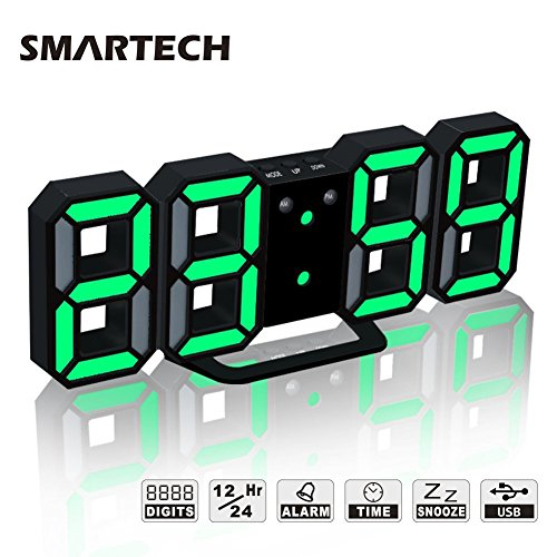 world digital clock - 6