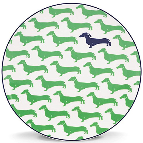 Kate Spade New York 836050 Wickford Dachshund Accent Plate,