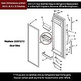 AMI PARTS 2187172 Door Shelf Deep Bin for Whirlpool