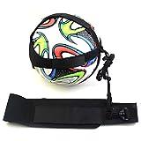 C-Pioneer Football Kick Trainer Skills Solo Soccer Practice Training Equipment Adjustable Waist Belt