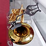Trumpet Marching Clamp-on Lyre Sheet Music Clip Stand Instrument Holder